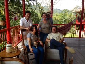 The Echeverri family, Owners of Hacienda Venecia