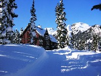 Luxury in the midst of a winter wonderland